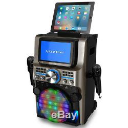 Ikaraoke Ultimate Bluetooth Karaoke Party Machine Avec 7 Écrans Et Port Usb