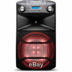 Ion Audio Block Party Haut-parleur Bluetooth À 2 Voies Ultra 120w Rock The Block Loud