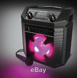 Ion Audio System Party Boom Portable Bluetooth Audio Haut-parleur Avec Microphon Ipa101