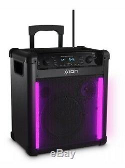 Ion Bloc Bascule Max Haut-parleur Bluetooth Karaoke Party Son Ipa76c2 Withmicrophone