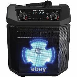 Ion Party Boom 100w Haut-parleur Rechargeable Haute Puissance Avec Lumières, Boost Basse