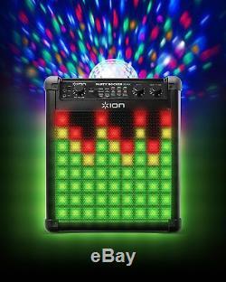 Ion Party Rocker Max - Système De Haut-parleurs Sans Fil Bluetooth Avec Spectacle De Lumière