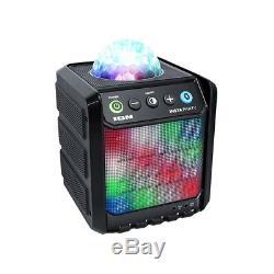 Ion Rechargeable Insta Party Bluetooth Haut-parleur Sans Fil Avec Disco Party Lights