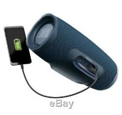 Jbl Charge 4 Haut-parleur De Soirée Bluetooth Portable Étanche, Bleu, Neuf Et Scellé