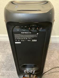 Jbl Party Box 100 Haut-parleur Bluetooth Portable (open Box- En Très Bon État)