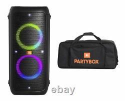 Jbl Party Box 300 Bluetooth Party Haut-parleur Avec Effets De Lumière + Sac De Transport