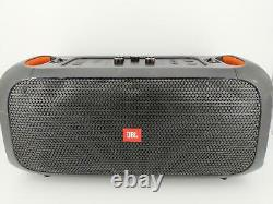 Jbl Party Box On The Go Portable Bluetooth Speaker Sound System Woofer Noir