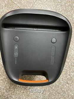 Jbl Partybox 100 Boîte De Partie Haute Puissance Audio Portable Bluetooth Système-cert