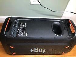 Jbl Partybox 100 Party Bluetooth Puissant Haut-parleur Portable Avec La Lumière Show- Demo