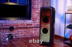 Jbl Partybox 1000 Haut-parleur Bluetooth Portable Avec Effets De Lumière De Panneau Complet