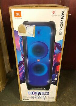 Jbl Partybox 1000 Party Bluetooth 1100w Megasound Haut-parleur Sans Fil Usb Noir