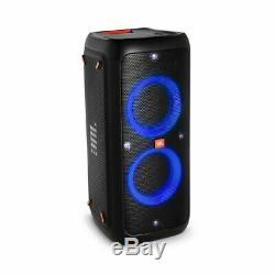 Jbl Partybox 200 Party Bluetooth Haut-parleur Portable Avec Des Effets De Lumière (noir). Au