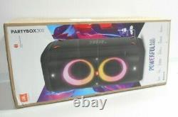 Jbl Partybox 300 Haut-parleur Bluetooth Portable Black Party Box 300
