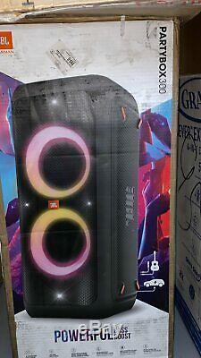 Jbl Partybox 300 Party Bluetooth Portable Haut-parleur Rechargeable
