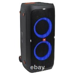 Jbl Partybox 310 Rechargeable Bluetooth Led Karaoke Party Speaker W Stand & MIC