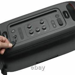 Jbl Partybox Sur-the-go Haut-parleur De Parti Portable Avec Lumières Intégrées Et Sans Fil