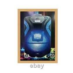 Joha Jds-3815 Bluetooth Sans Fil Mega XL Party Led Subwoofer Haut-parleur 3800w