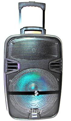 Jumbo 4600 Watts 15 Haut-parleur Bluetooth Sans Fil Avec Microphone
