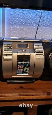 Jvc Boomblaster Rv-nb50 Boombox Party Loud Hifi CD Ipod Usb (haut-parleur Basse 16cm)