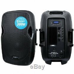 Kam 300w 10 Powered Actif Haut-parleur Bluetooth Dj House Party Président Usb Sd