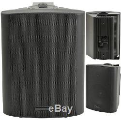 Kit De Haut-parleur Bluetooth Extérieur 4x Parties De Barbecue Au Karaoké / Stéréo Avec Ampli Noir