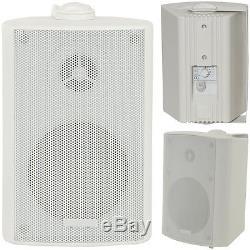 Kit Haut-parleur Bluetooth Extérieur 4x Parties Blanches Pour Barbecue Au Karaoké / Stéréo Avec Ampli