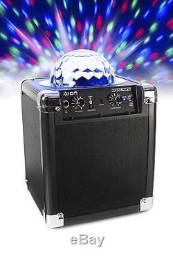 La Couleur Des Haut-parleurs De Fête Portables Bluetooth Allume Une Boule Disco Aux Entrées MIC Au Karaoké