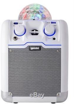 La Discothèque Led À Haute Voix Portable Du Haut-parleur Bluetooth Allume Le Son Aux Aux Basses