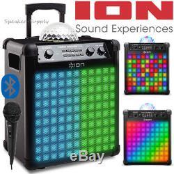Le Parti De Haut-parleur Sans Fil Iber Party Rocker Max Allume Le Karaoké Bluetooth Avec Micro