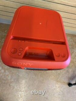 Le Président Du Parti Sony Gtk-xb7 En Rouge