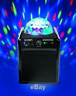 Led Multicolore De Haut-parleur De Fête Portable Bluetooth Avec Boule Disco Aux-in
