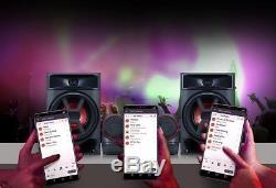 Lg Ck43 Xboom Bluetooth Bluetooth 150w + 150w Rms Hi-fi Système Audio Haut-parleurs Stéréo