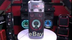 Lg Lg Ok99 Xboom Party 1800w Speaker System Avec Des Effets Karaoké Et Dj