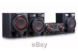 Lg Loudr Xboom Stéréo Avec 3 Haut-parleurs (cj45) Karaoké Bluetooth Party Jukebox 720w