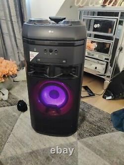 Lg Ok55 Xboom 500w Sans Fil Megasound Dj Party Speaker Système Hi-fi Avec Lumières