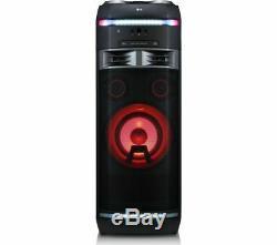 Lg Ok75 Xboom Bluetooth Megasound Salut-fi Party Speaker System De Lecteur CD Usb