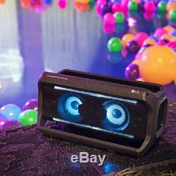 Lg Pk7 Xboom Go Résistant À L'eau Party Sans Fil Bluetooth Avec Haut-parleur Jusqu'à 22 H