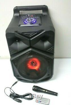 Live Party Système Audio De Musique Bluetooth Sd Usb Microphone Sans Fil De L'événement
