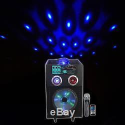 Lumières De Fête / Micro De Partie De Bluetooth De Haut-parleur Rechargeable De N10ar 10 De Nyc Acoustics 10