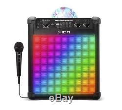 Lumières De Fête Multi-effets Pour Haut-parleur Rechargeable Sans Fil Ion Party Rocker Max