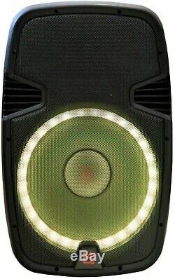 M. Dj Pbx2690lb 15 3500w Active Pa Party Dj Powered Bluetooth Président + Support