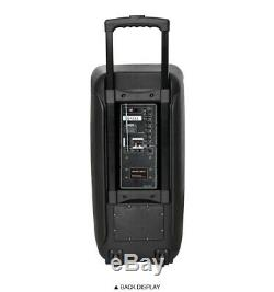 Mg Sp-210rbt Système De Haut-parleurs De Fête Karaoké Rechargeable Bluetooth 4000w Magicbass