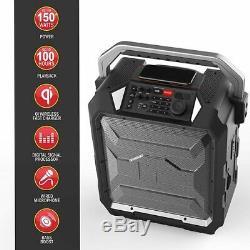 Monstre Mnrrc Rockin Rouleau De Charge Haut-parleur Portable Bluetooth Party