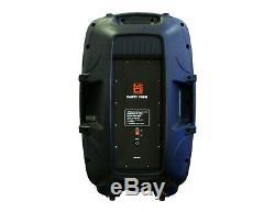 Mr Dj 2 15 Powered Actif 4000 Watt 2-way Dj Pa Système De Haut-parleurs