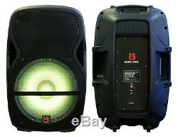 Mr Dj Partypack Portable 15 '' Bluetooth Party Karaoke Sono Dj Président Audio Système
