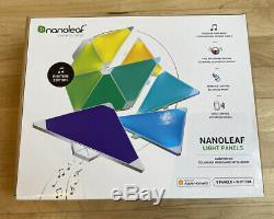 Nanoleaf Panneaux Lumineux Smarter Kit Rhythm Édition 9 Panneaux + Rhythm