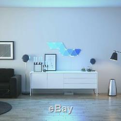 Nanoleaf Rhythm Édition Smarter Light Kit 9 Panneaux Lumineux
