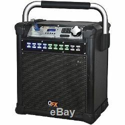Nouveau 8 Subwoofer Bluetooth Système De Haut-parleurs De Fête Portable MIC Radio Fm Usb / Sd / Aux