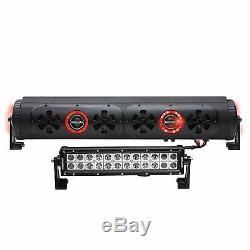 Nouveau! Bazooka 450w 24 Pouces Bluetooth Dual Sided Barres De Fête Sur Route Et Lampes À Del