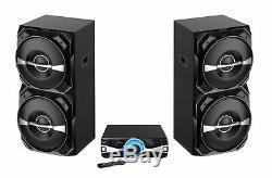 Nouveau Britelite Edison Party Professional Système 2500 Système Bluetooth Haut-parleur